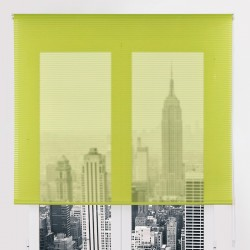 Decoración-Nuevo-Estilo-estor-enrollable-REJILLA-04-verde--dia