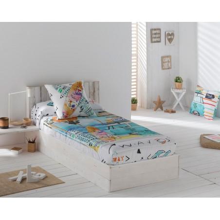 Edredón-ajustable-beach-multicolor-decoracion-nuevo-estilo