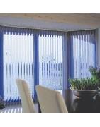cortinas de lamas verticales-Decoración Nuevo Estilo