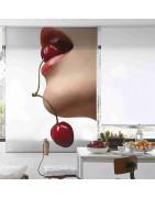 Estores enrollables estampados para la cocina-Decoración Nuevo Estilo